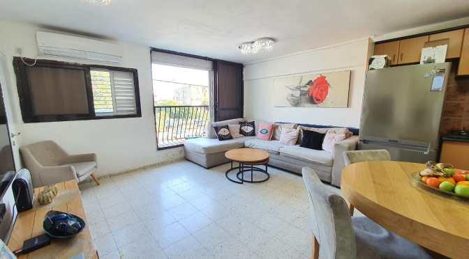דירת 3 חדרים עם אפשרויות בניה ברחוב המעפילים תל גיבורים
