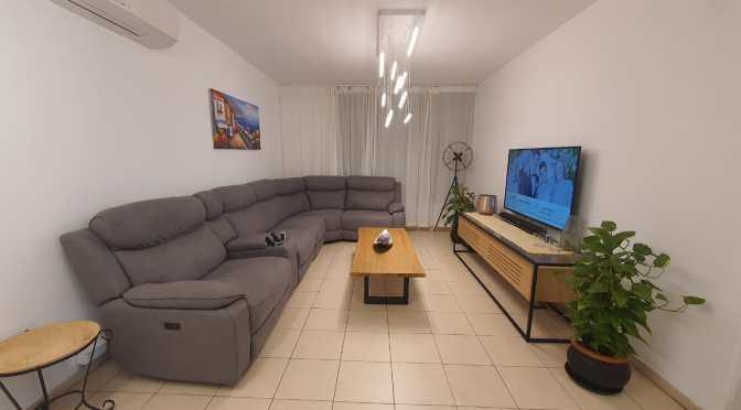 """3.5 חדרים, מרווחת מאוד, בניין לפני תמ""""א ברחוב דוידזון, קדמת ראשון, ראשל""""צ."""