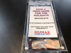 Send a Hero Home for the Holidays