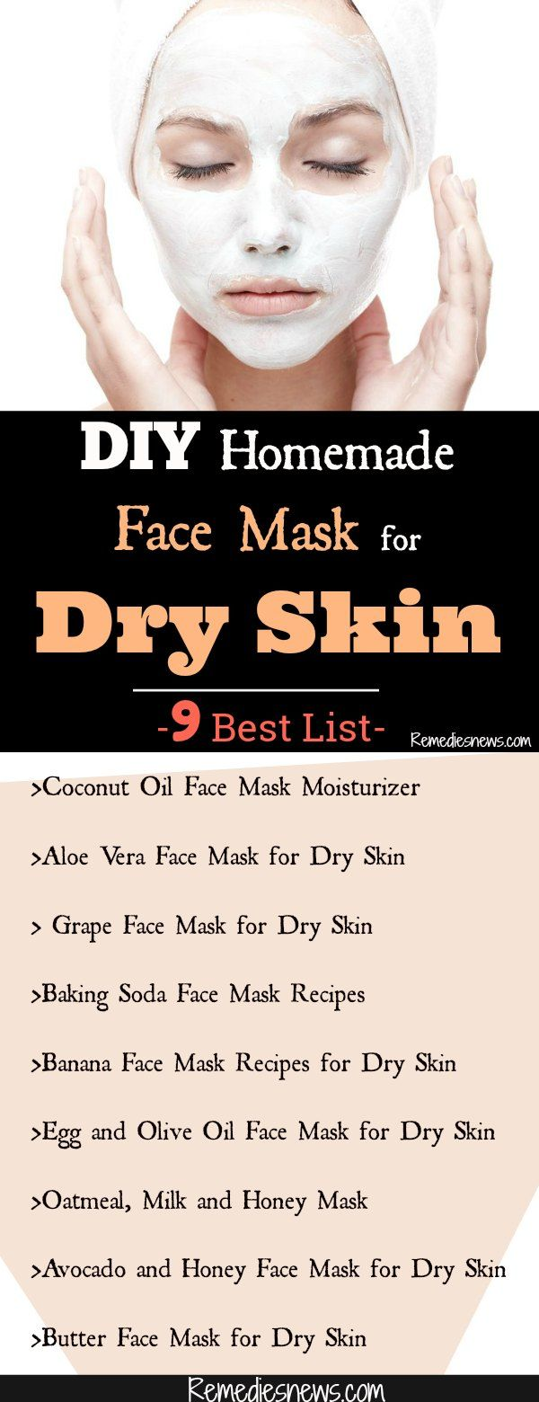 DIY Homemade Face Mask for Dry Skin- 9 Best List