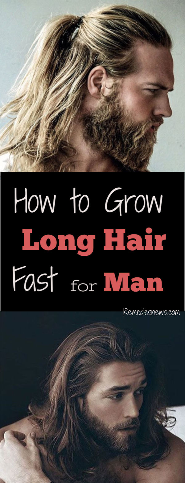 How to Grow Long Hair for Men - 10 Tips for Healthy Hair