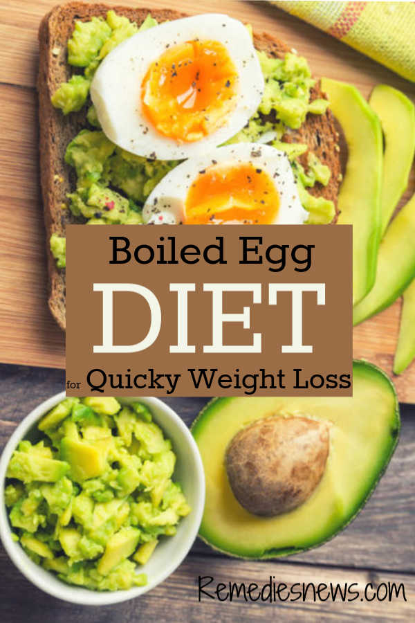Easy Boiled Egg Diet Plan Lose 24 Pounds In 2 Weeks
