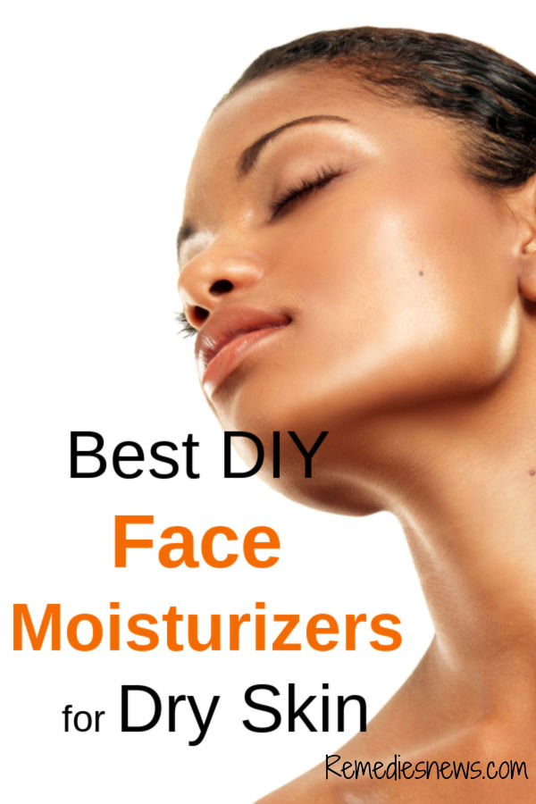 DIY Face Moisturizers for Dry Skin. Effective Dry Skin Home Remedies for Face that Work Naturally for Sensitive and Dry Winter Skin to Remove Acne, Darkspots. Homemade Active Ingredients: Aloe Vera, Essential Oils Recipes and more