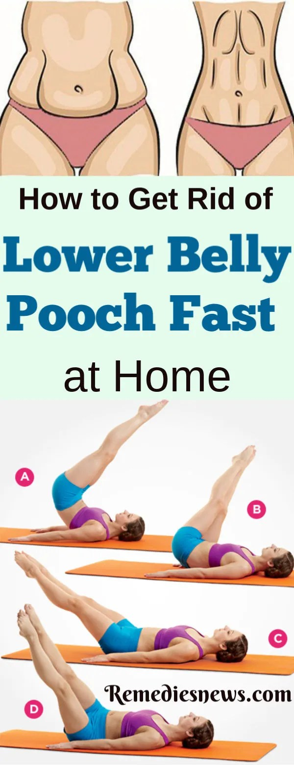 How to Get Rid of Lower Belly Pooch Fat In 1 Week at Home. How Can I Reduce Lower Belly Fat? If You Want to Get A Flat Stomach Fast. Here Are Simple Exercises to Lose Lower Belly Fat Fast in a Week at Home.