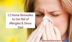Best Ways to Get Rid of Allergies and Sinus Fast at Home