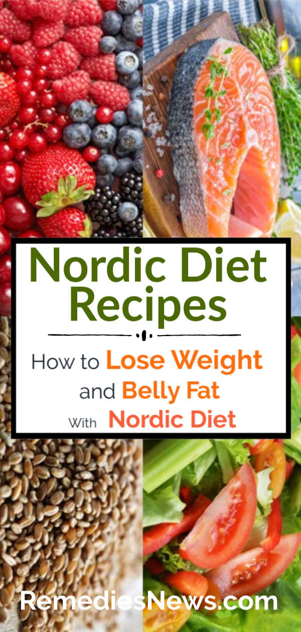 Nordic Diet Recipes : How to Lose 10 Pounds Fast and Naturally