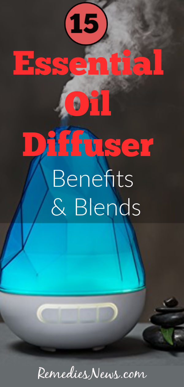 15 Essential Oil Diffuser Benefits and Blends + How to Use Them at Home