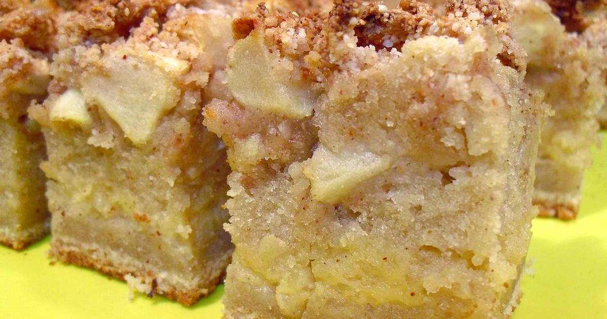 bizcocho de canela y manzana