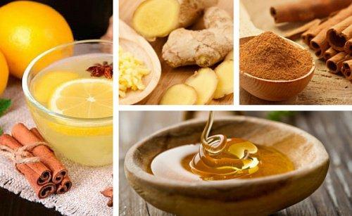jengibre limon y miel bajar de peso