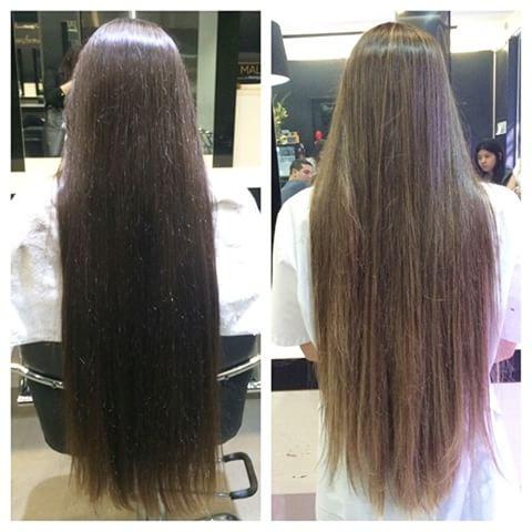 Manzanilla para aclarar el pelo antes y despues de adelgazar