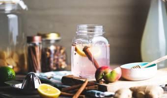 Combinación de Canela, Miel y Limón
