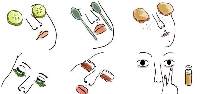 Remedios naturales para ojeras