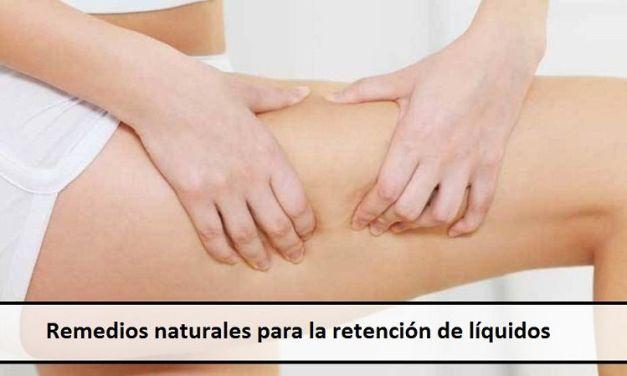 Remedios naturales para la retención de líquidos