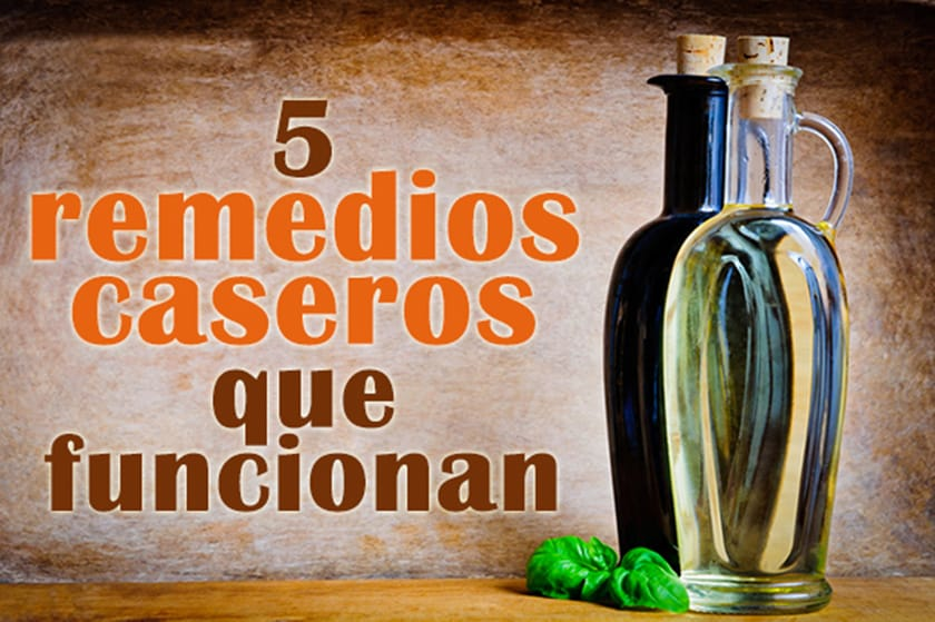 5 remedios caseros naturales