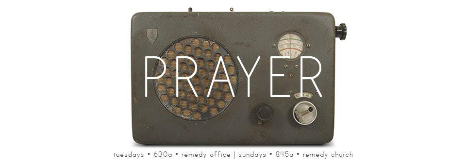 Prayer Banner - 2015