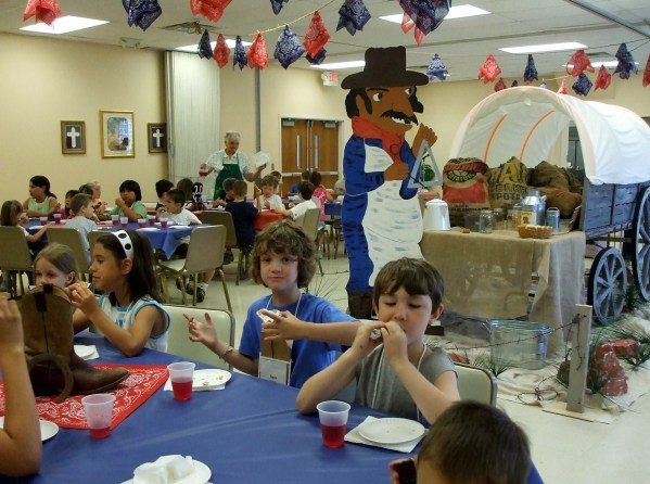 VBS takes months to prepare and one week to enjoy.