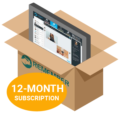 RememberStuff-System-with-12-month-subscription