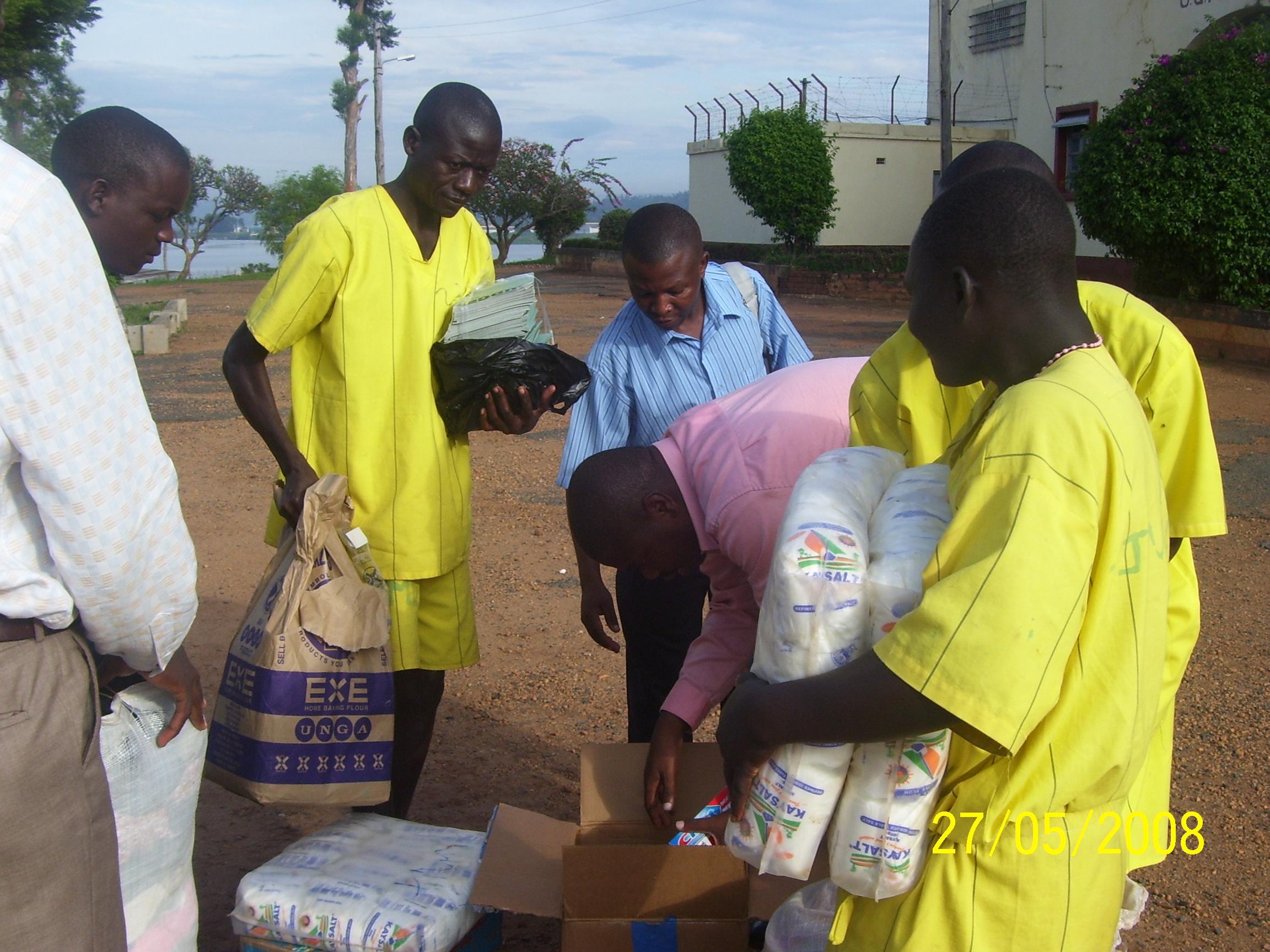 Jinja Prison Ministry Relief Program