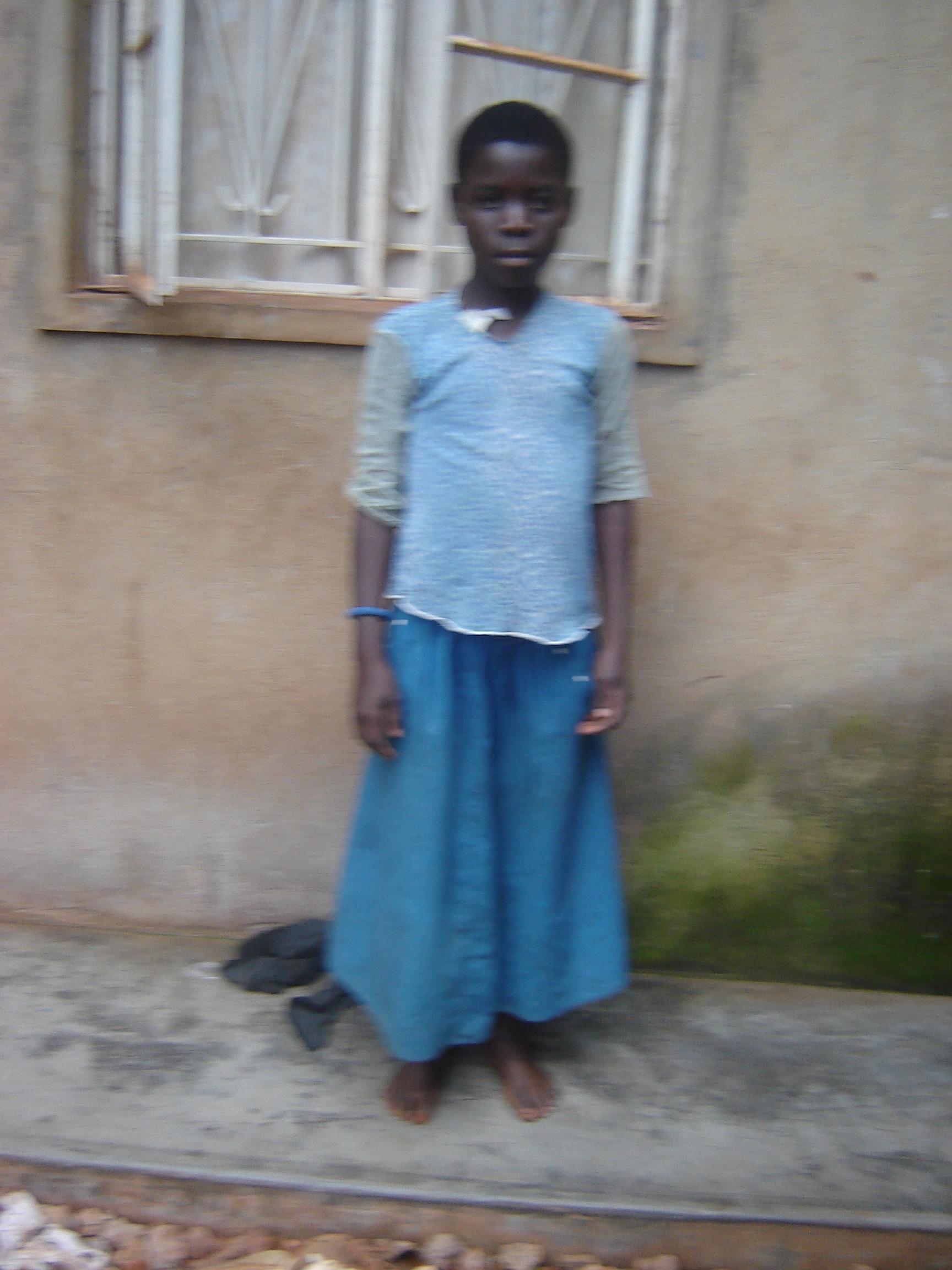 Sarah Namugaza- 12 yrs