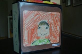 Evan's art book cover