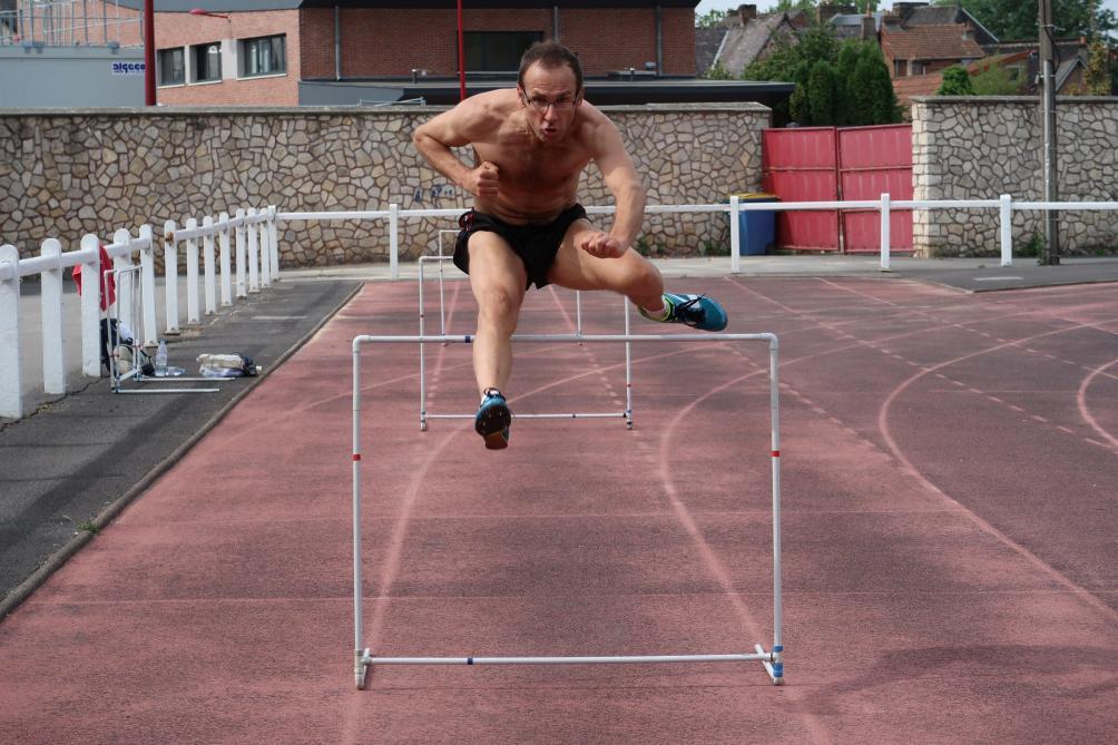 vice champion de france masters du 110m