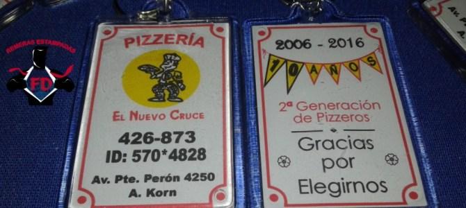 Llaveros Publicitarios para Pizzerías