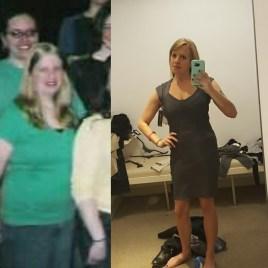 Me 10 years ago, vs now