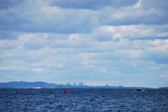 Montréal depuis le Saint-Laurent (Québec)