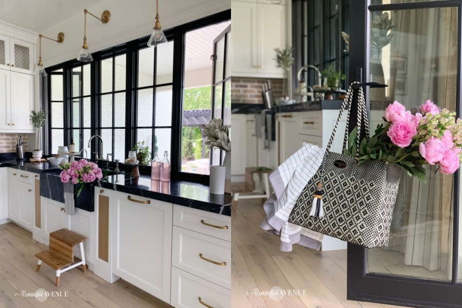 french country modern patio reveal with