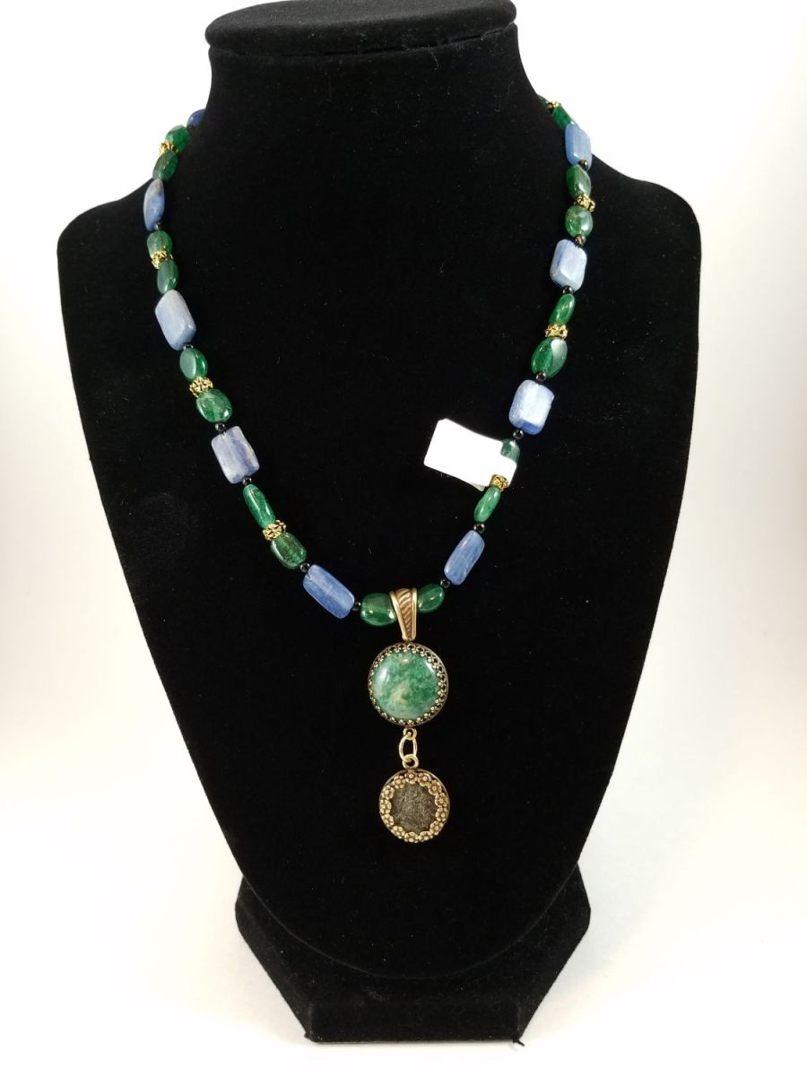 Necklace featutring 4th century Roman coin