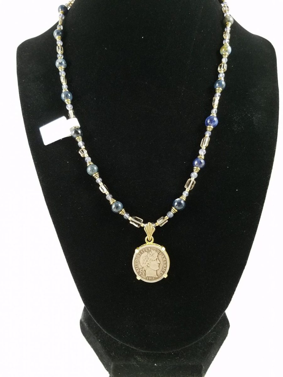 Necklace with Liberty Head dime