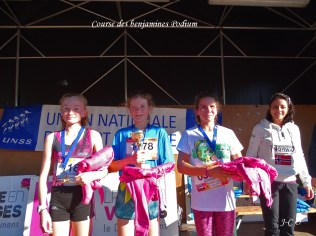 03 Podium Benjamines Cross UNSS
