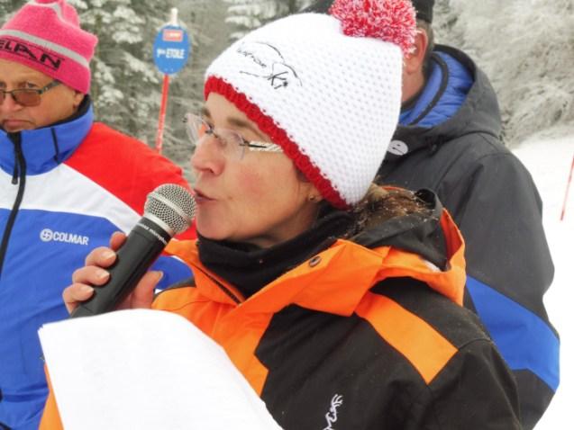 Catherine Biegalke, une présidente satisfaite