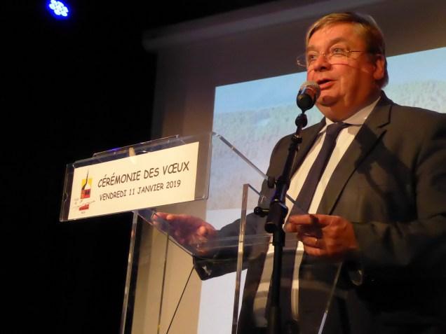 François Vannson, président du Conseil Départemental
