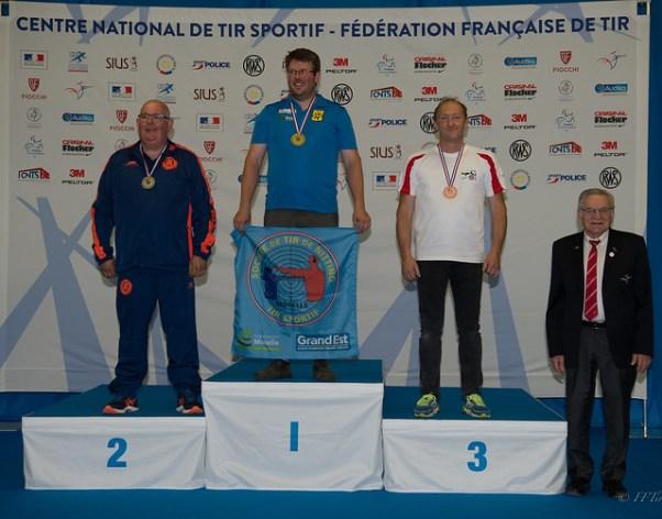 Alain 3ème au championnat de France Juin 2019