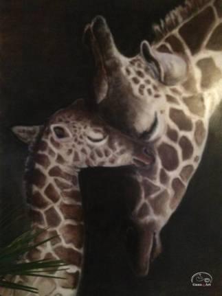 SAVANNAH-BONDING-painting-by-GUNN-4-ART-768x1024