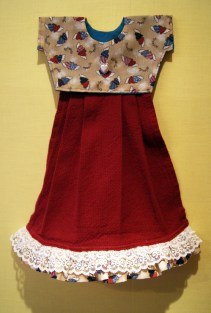 a remake - I like it better with the lace and ruffles.