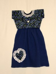 a scrap and some lace? - make a heart!