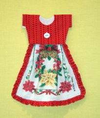 the other piece of 'ho ho ho' fabric