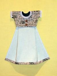 a Sunday-go-to-meetin' dress