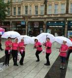Me and the LGFB girls...in wind and rain!