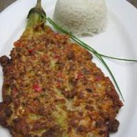 Tortang Talong (Eggplant Omellete)