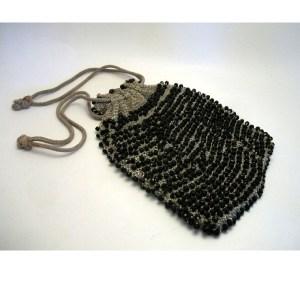 drawstring purse vintage