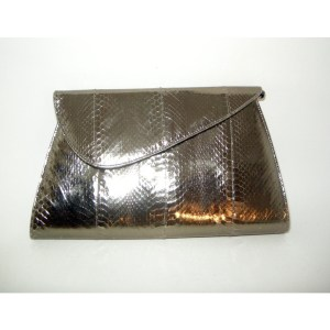 glam metallic clutch bag