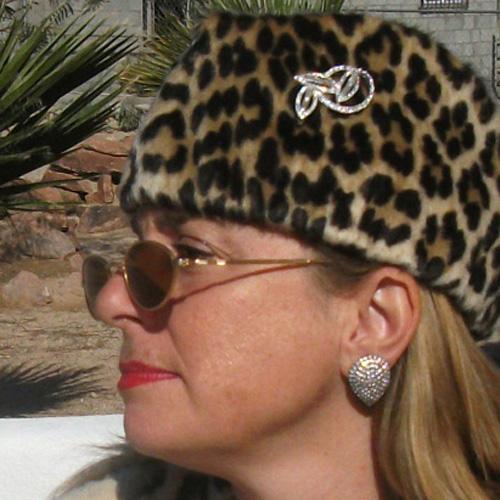 rhinestone clip earring - remix vintage clothing