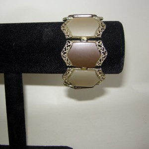 coro bracelet therrmoset moonstone-the remix vintage fashion
