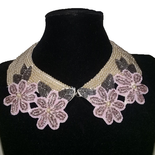 Pearl collar necklace japan-the remix vintage fashion