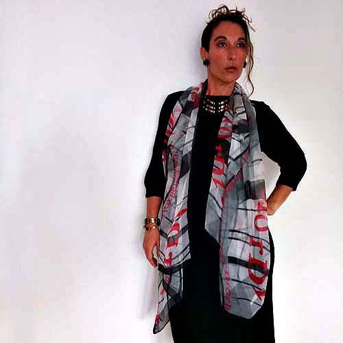 christian dior scarf-the remix vintage fashion