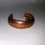 copper cuff bracelet-the remix vintage fashion