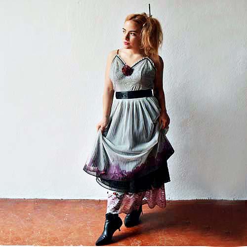 sliptique transformed vintage lingerie apparel accesssories upcycle-the remix vintage fashion